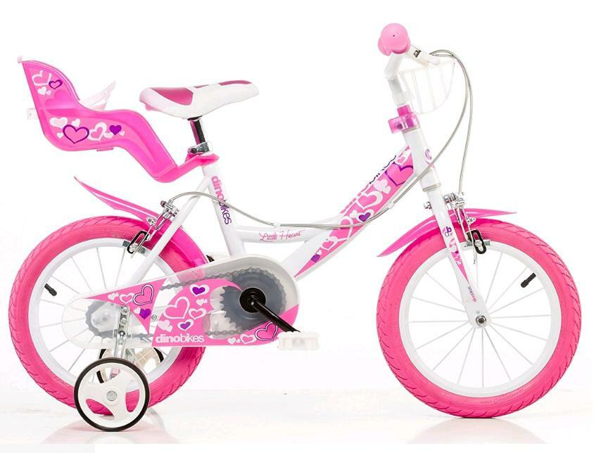 dino bikes little heart bicicletta 16