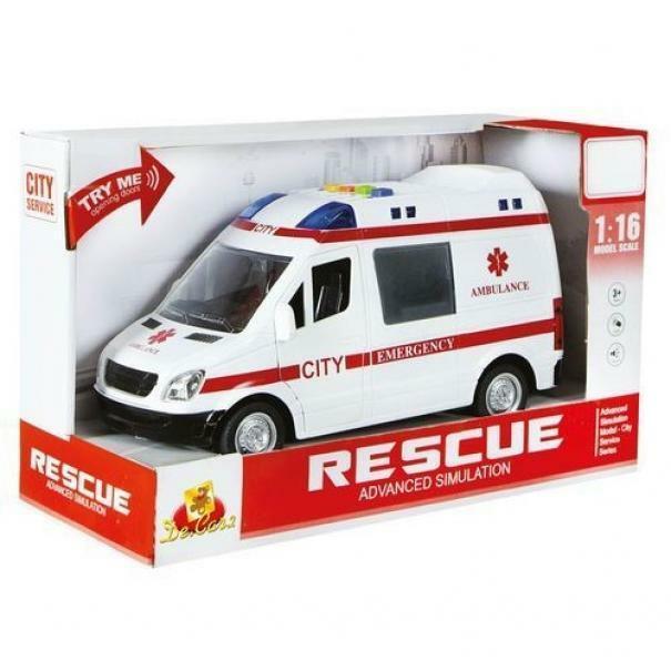 decar decar rescue ambulanza luci e suoni