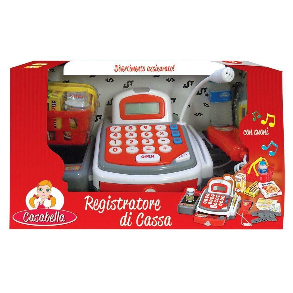 rocco giocattoli rocco giocattoli casabella registratore di cassa