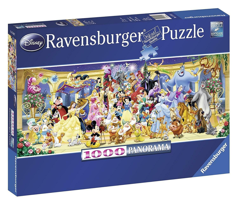 ravensburger ravensburger puzzle 1000 pz - personaggi disney