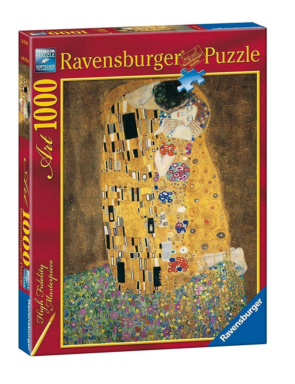 ravensburger ravensburger puzzle 1000 pz il bacio