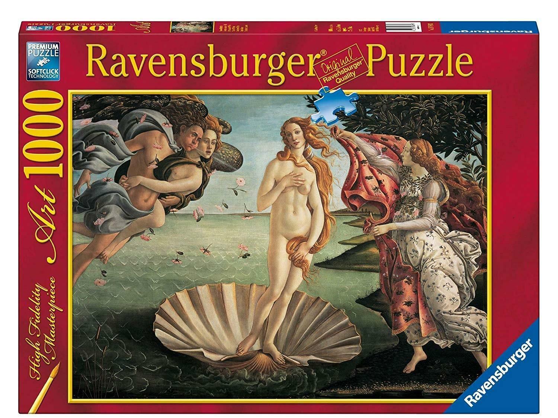 ravensburger ravensburger puzzle 1000 pz - nascita di venere
