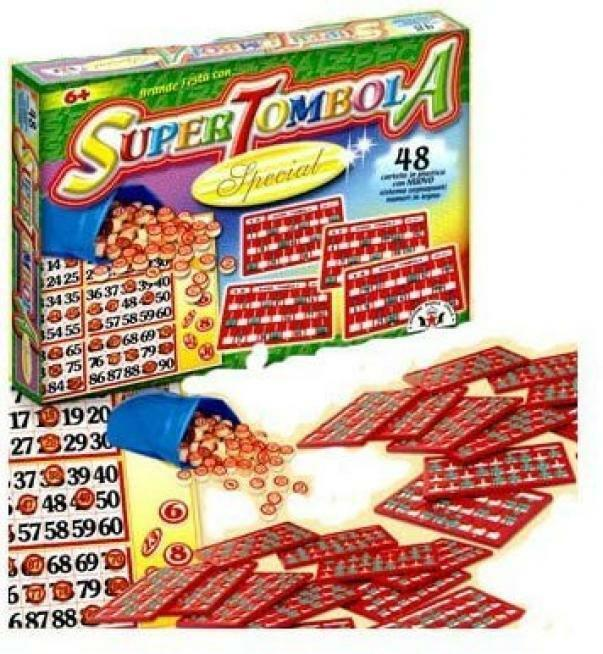 giocattoli tombola special 48 cartelle