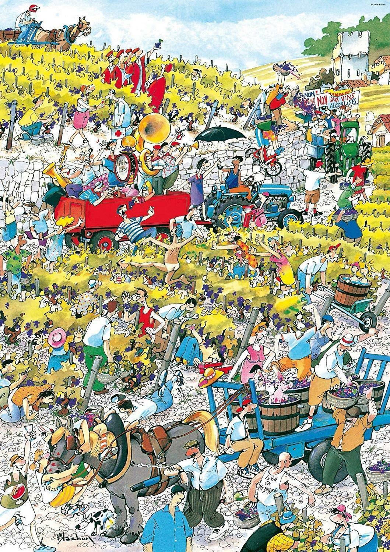 heye heye puzzle 1000 pz - vigneto