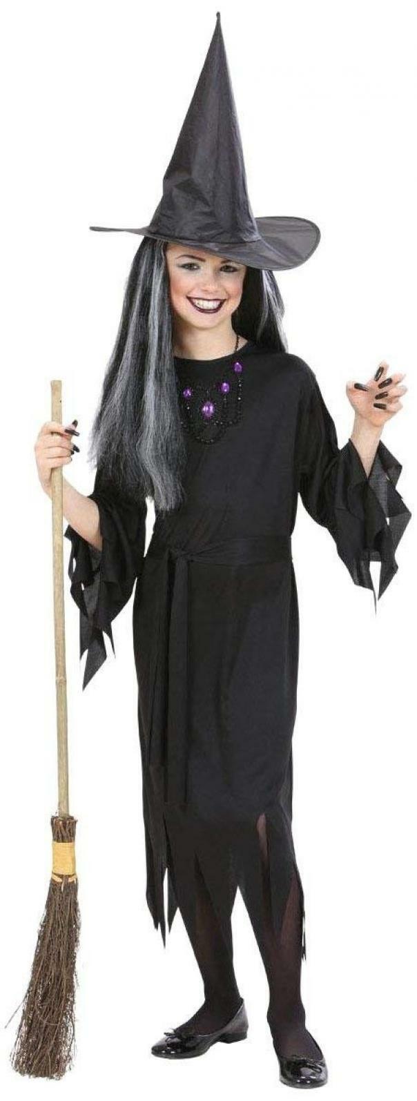 widmann widmann costume strega taglia 8/10 anni