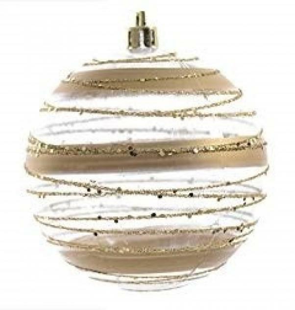 kaemingk kaemingk 1 palla 8 cm vetro decorato