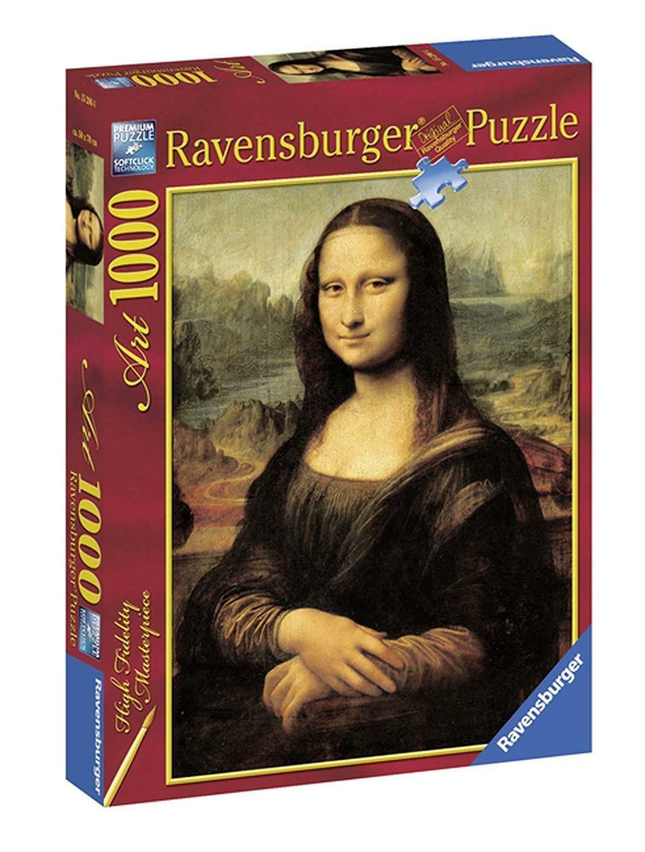 ravensburger ravensburger puzzle 1000 pz la gioconda