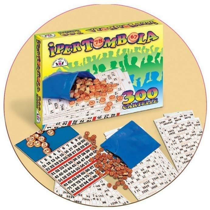 giocattoli ipertombola 300 cartelle