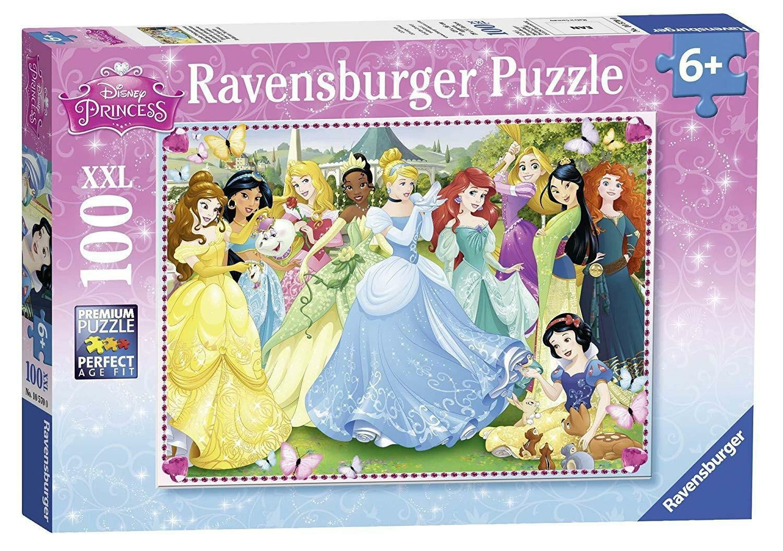 ravensburger ravensburger puzzle 100 pz xxl - disney princess