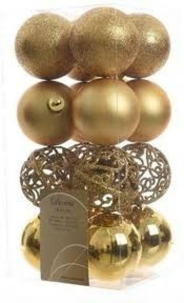 kaemingk kaemingk 16 palle r 6 cm - colore oro