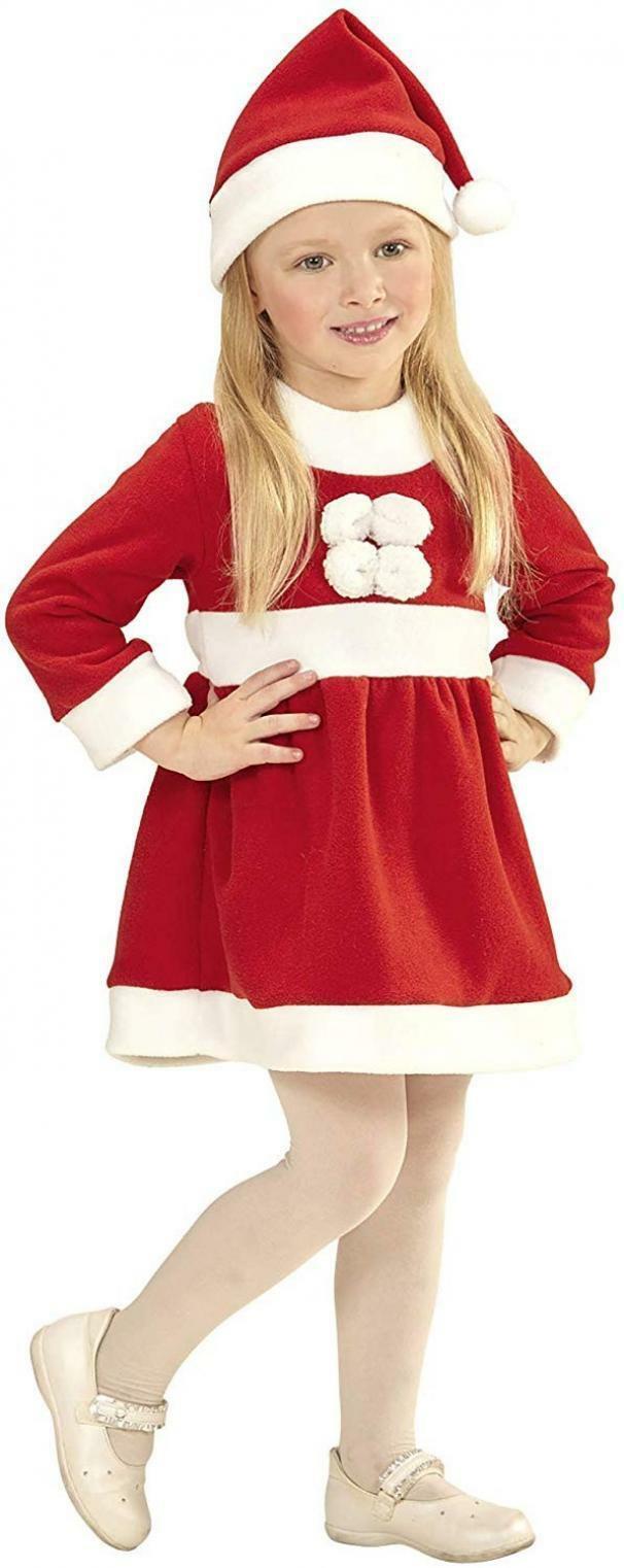 widmann widmann costume santa claus girl taglia 6/12 mesi