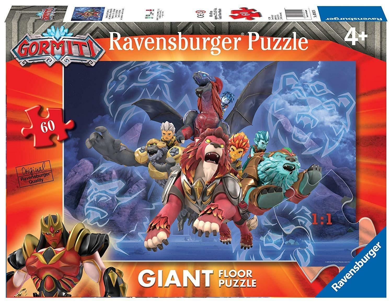 ravensburger ravensburger puzzle 60 pz gormiti