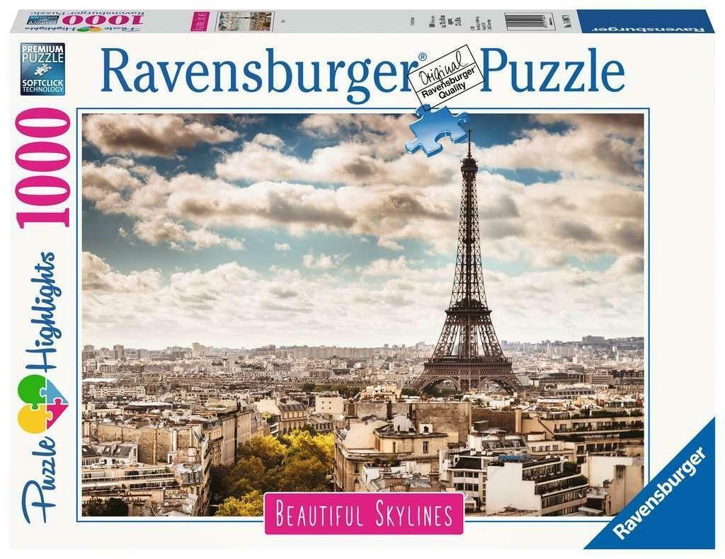 ravensburger ravensburger puzzle 1000 pz - skylines parigi