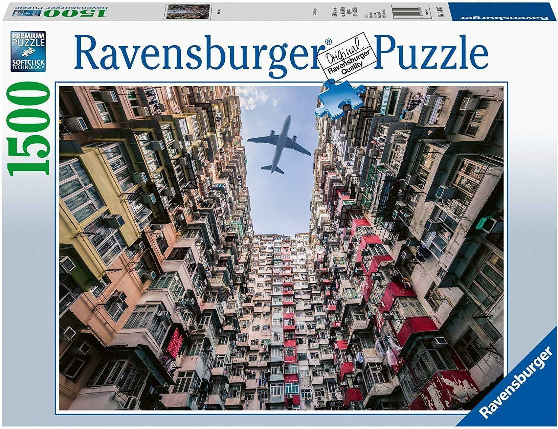 ravensburger ravensburger puzzle 1500 pz - hong kong