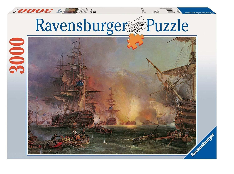 ravensburger ravensburger puzzle 3000 pz - bombardamento di algeri
