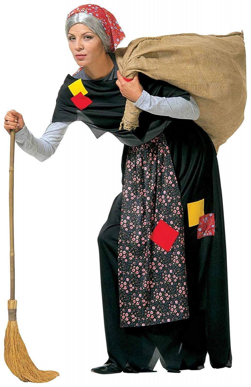 widmann widmann costume befana - taglia m