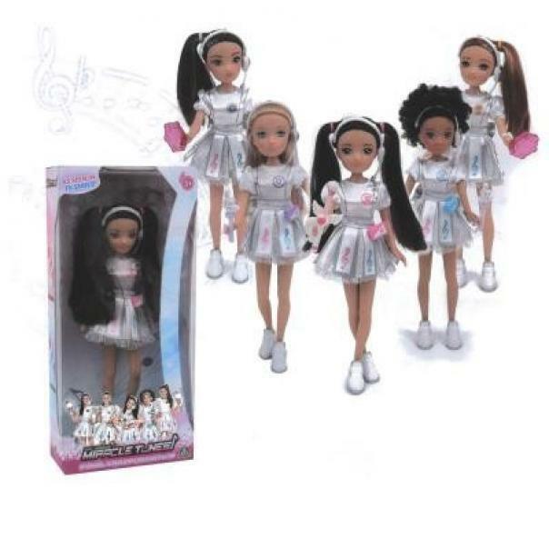 giochi preziosi bambola miracle tunes 25 cm