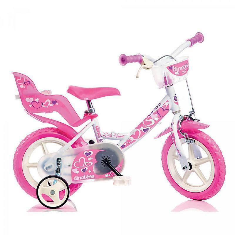 dino bikes dino bikes little heart bicicletta 12 pollici