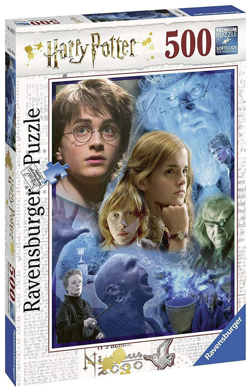 ravensburger ravensburger puzzle 500 pz - harry potter a hogwarts