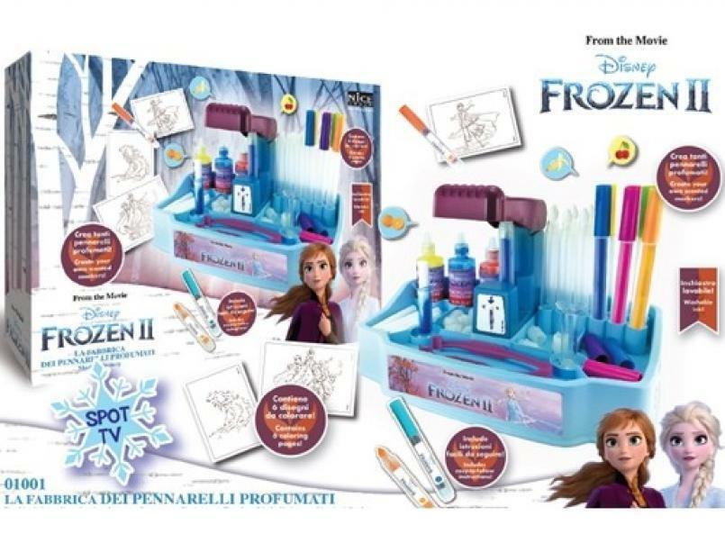 nice nice fabbrica pennarelli profumati frozen 2