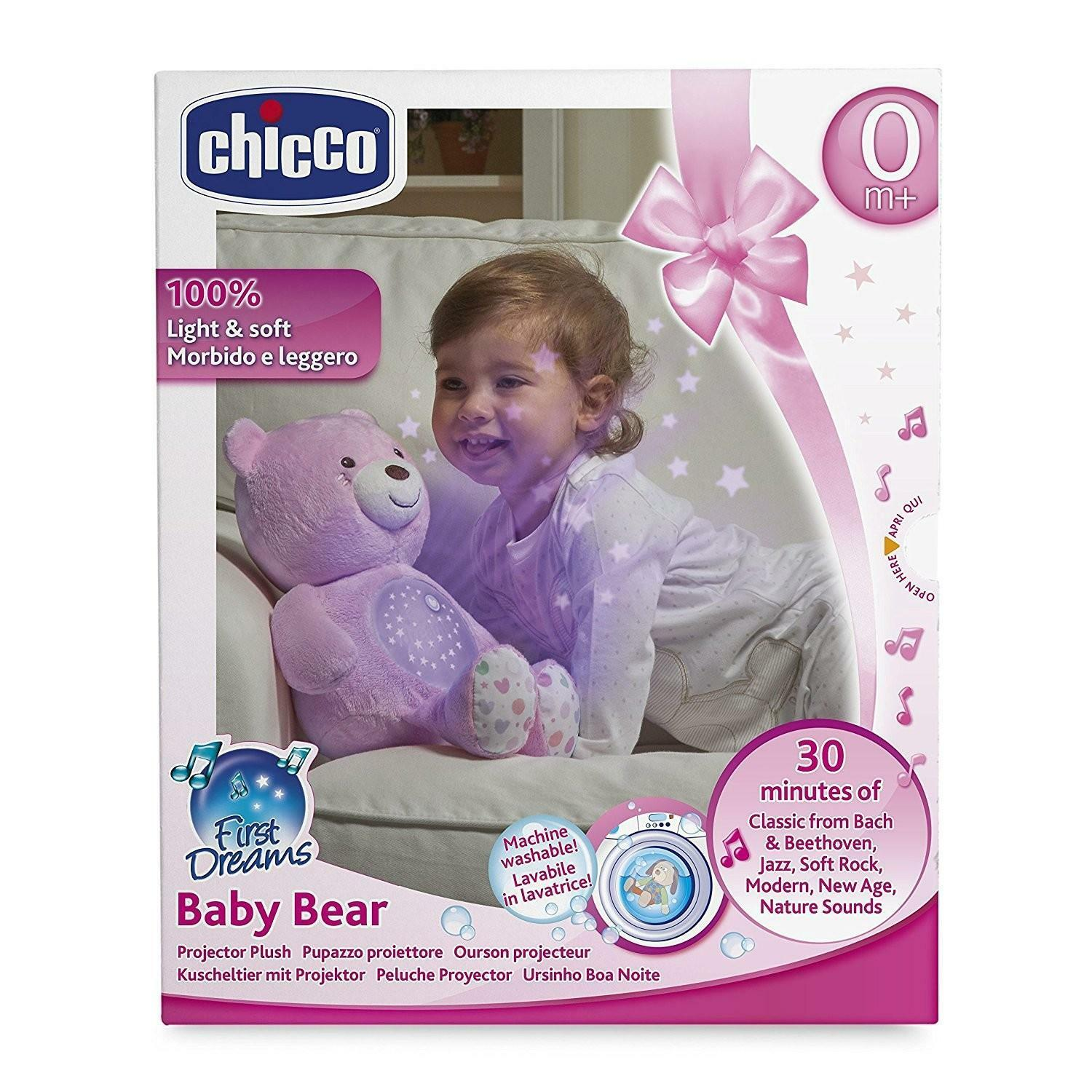 chicco chicco first dreams orsacchiotto, rosa
