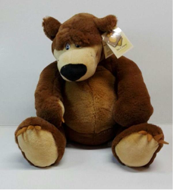 plush & company plush & company peluche orso kyril cm 40