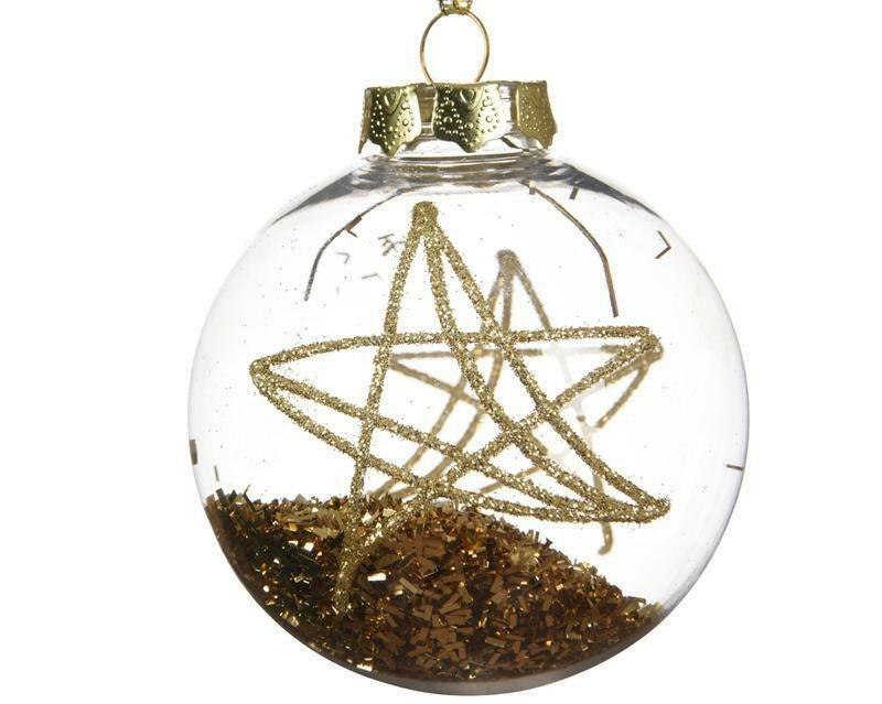 kaemingk kaemingk 1 palla r 8 cm - vetro decorato