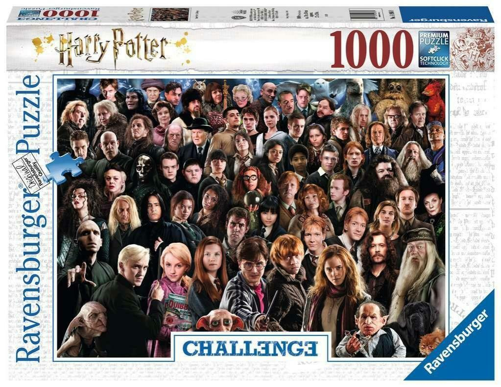 ravensburger ravensburger puzzle 1000 pz - harry potter