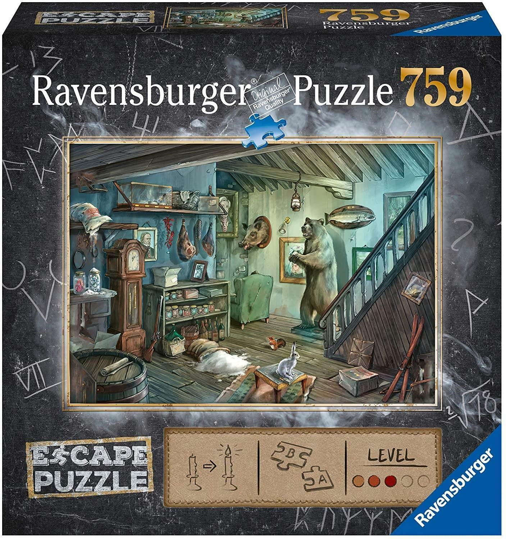 ravensburger ravensburger escape puzzle 759 pz - la cantina degli orrori