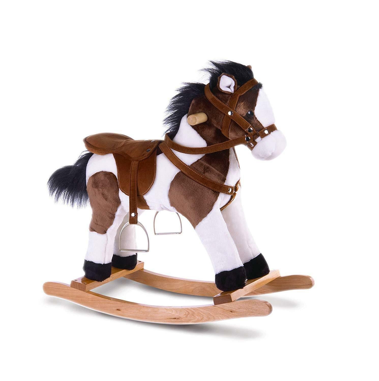 plush & company plush & company cavallo a dondolo cm 70