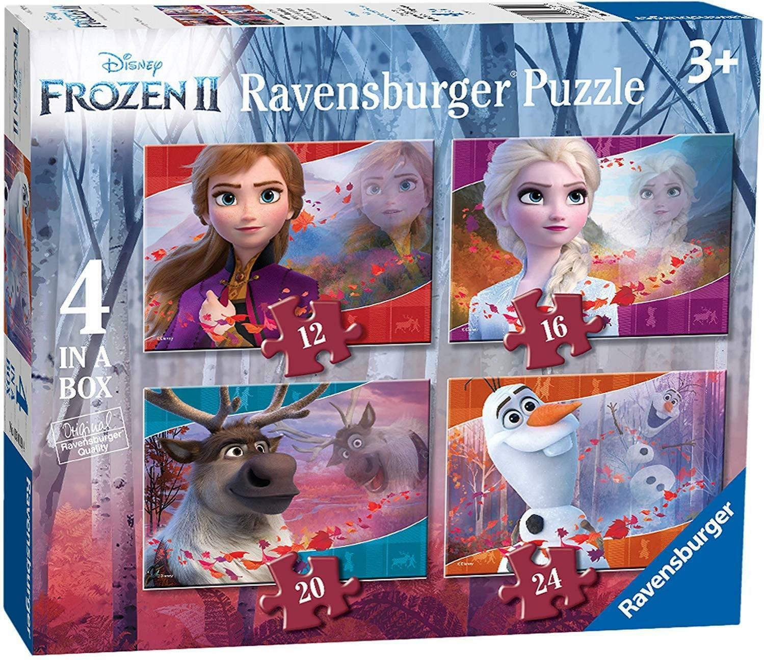 ravensburger ravensburger frozen 2 puzzle 4 in a box 03019