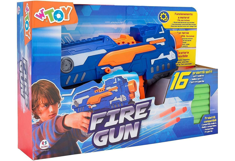 globo globo fire gun - mitra spara proiettili soft