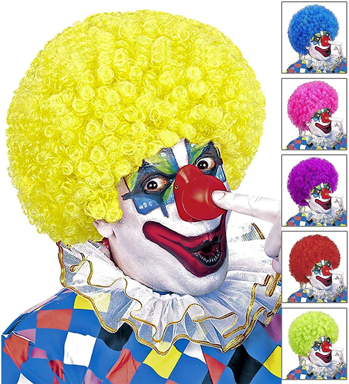 widmann widmann parrucca riccia clown