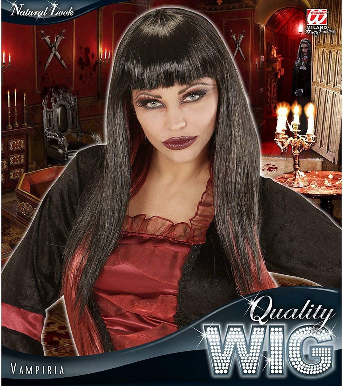 widmann widmann parrucca vampiria nera