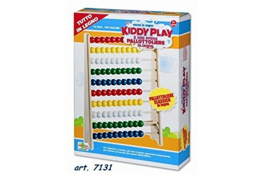 ronchi supertoys ronchi supertoys kiddy play - pallottoliere classico in legno