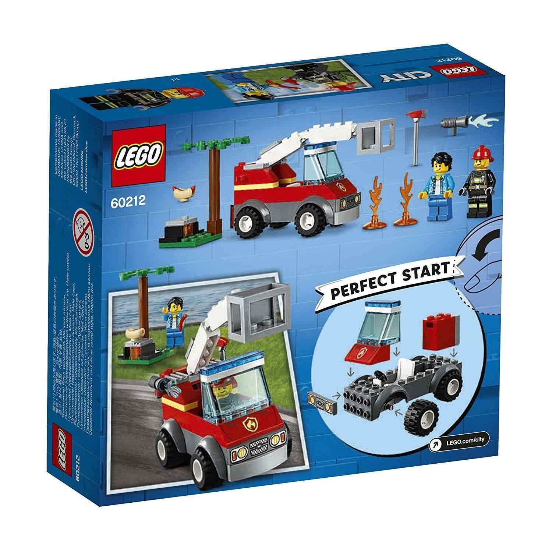 lego lego city 60212 - barbecue in fumo