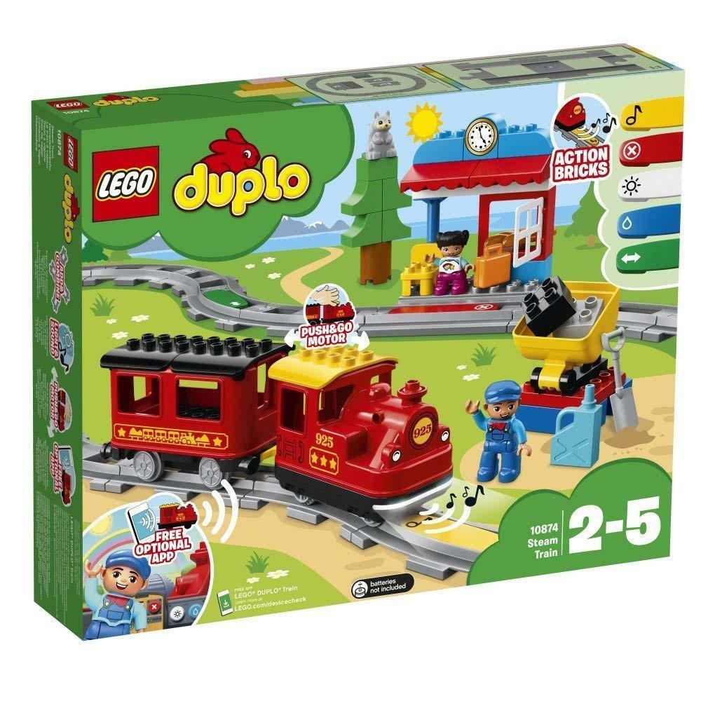 lego lego duplo 10874 - treno a vapore