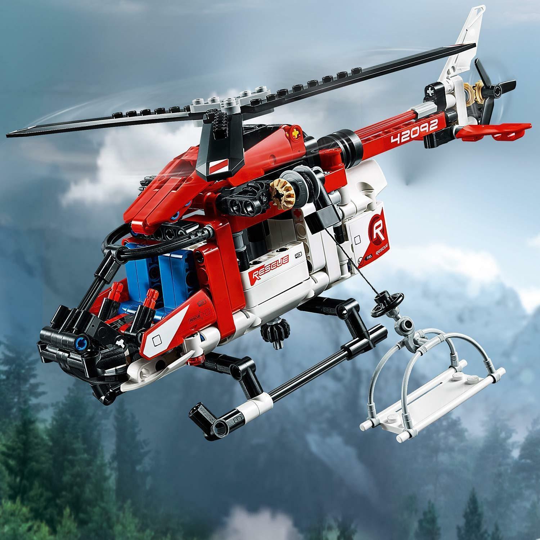 lego lego technic 42092 - elicottero di salvataggio