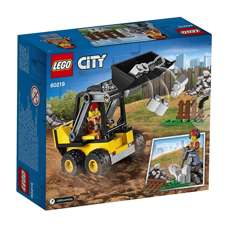 lego lego city 60219 - ruspa da cantiere