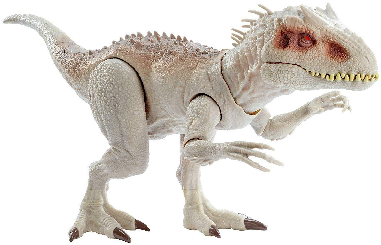 mattel mattel jurassic world - indominus rex dinosauro