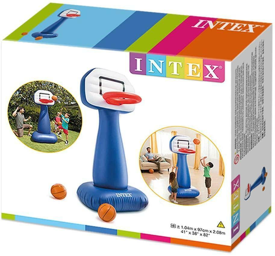 intex intex gioco basket gonfiabile - 57502