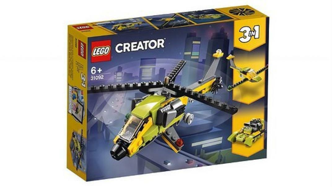 lego lego creator 31092 - avventura in elicottero