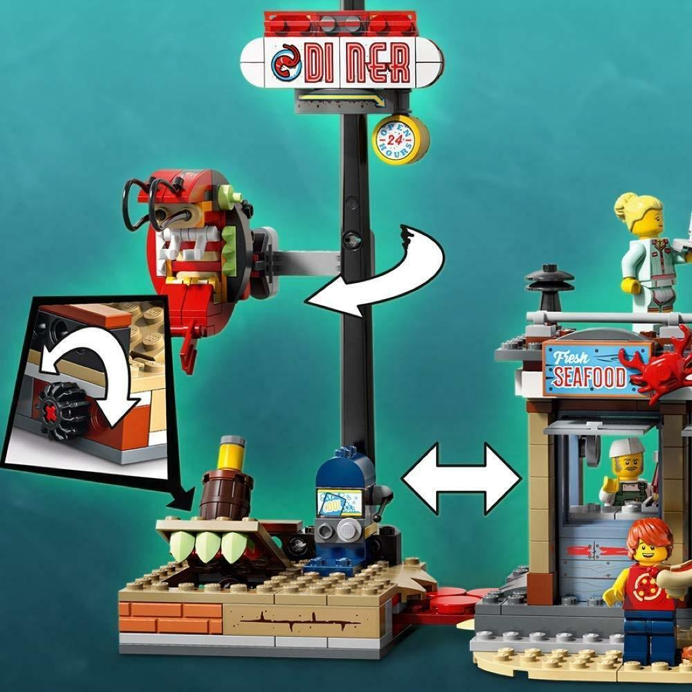 lego lego hidden side 70422 - attacco alla capanna dei gamberetti