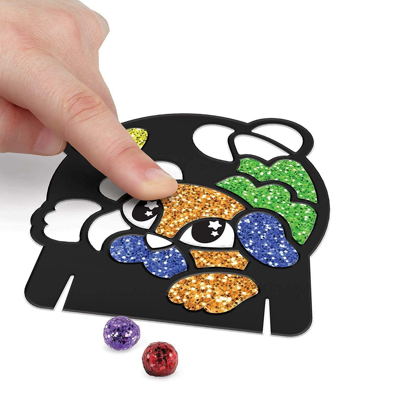 crayola glitter dots - magici mosaici