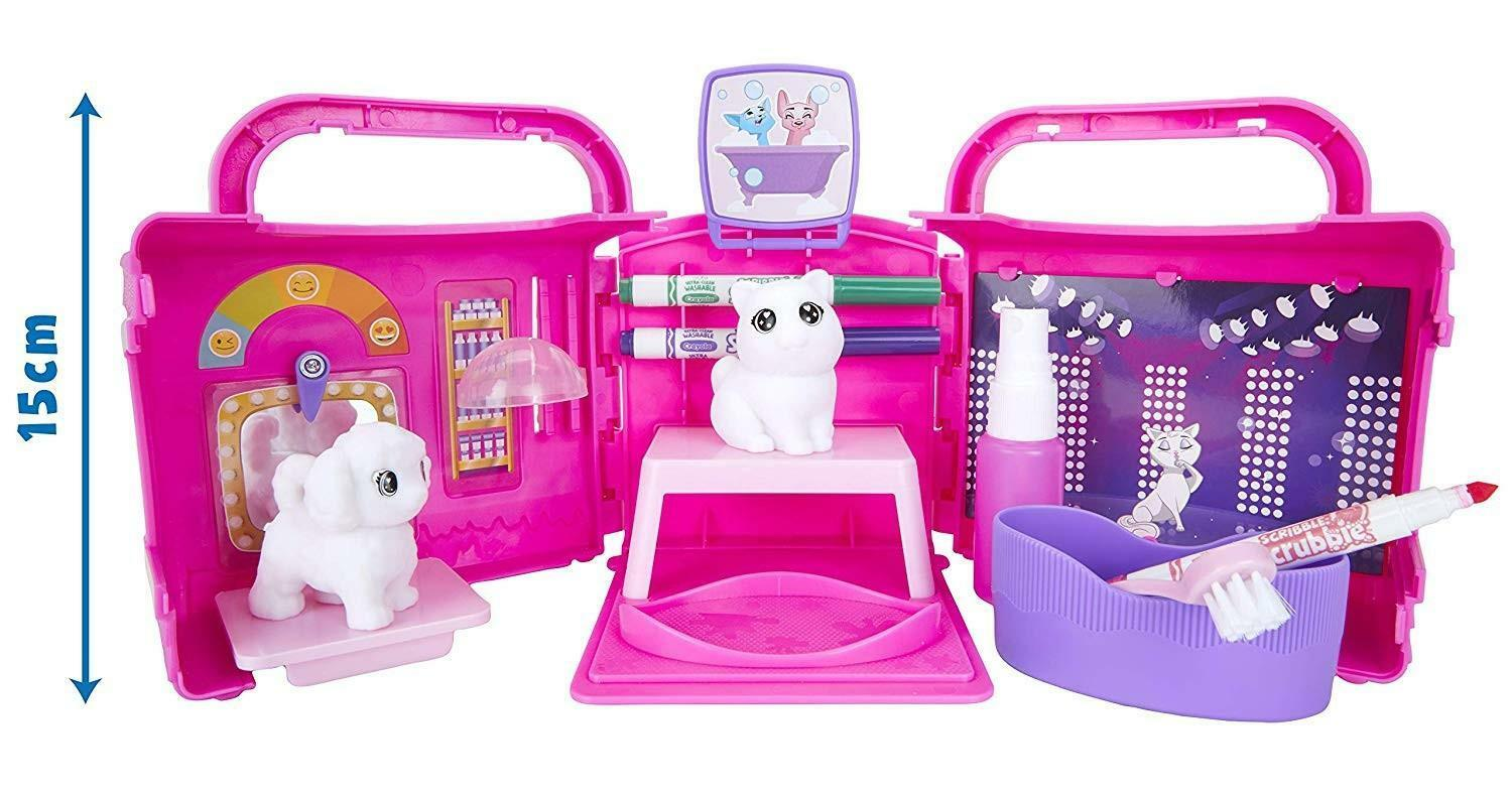 crayola crayola washimals set salone di bellezza