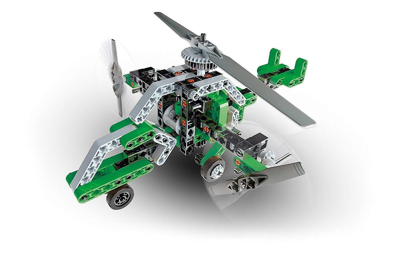 clementoni clementoni scienza & gioco - elicottero trirotore & airboat 13970