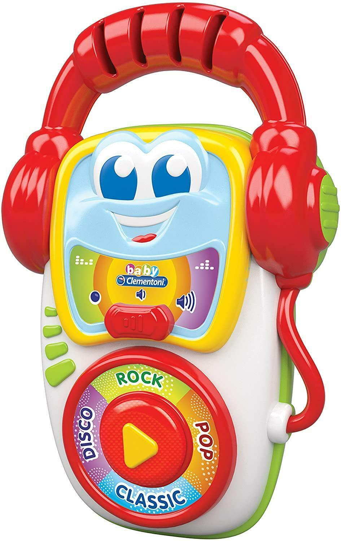 clementoni baby deejay press & play 14982