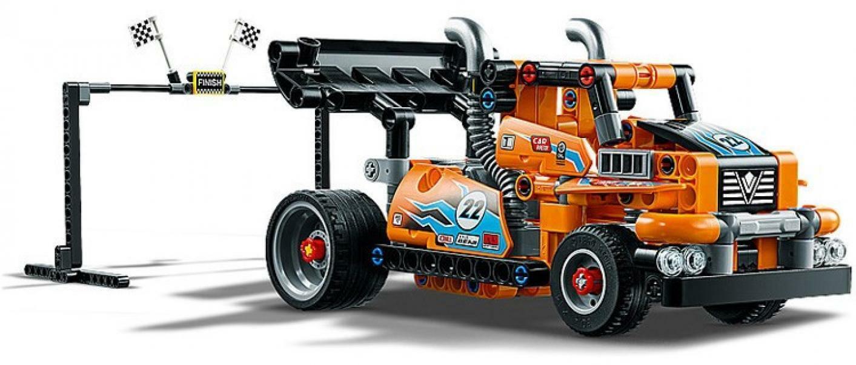 lego lego technic 42104 - camion da gara