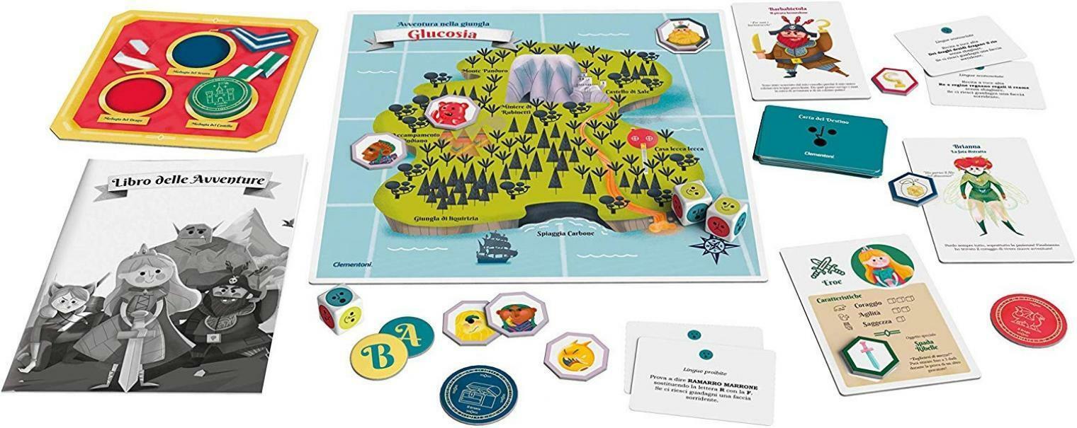 clementoni gioco all'avventura 16156