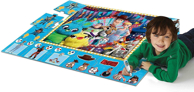 clementoni toy story 4 - il tappeto gigante interattivo 16234